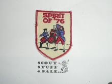 Vintage Spirit of '76 Bicentennial Travel Souvenir Patch