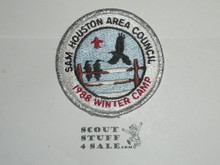 Winter Camp Patch, 1988, Sam Houston Area Council - Boy Scout