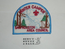 Winter Camp Patch, Sam Houston Area Council - Boy Scout
