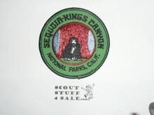 Vintage Sequoia - Kings Canyon National Parks Travel Souvenir Patch