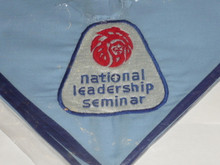 Order of the Arrow National Leadership Seminar Embroidered Neckerchief