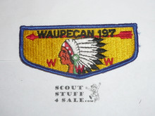Order of the Arrow Lodge #197 Waupecan s5 Flap Patch