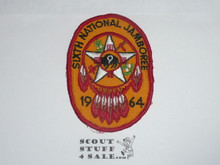 1964 National Jamboree Region 9 Contingent Patch, used
