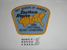 1993 National Jamboree Southern Region Patch