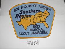 1993 National Jamboree Southern Region Jacket Patch