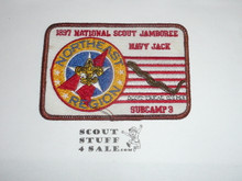 1997 National Jamboree Northeast Region Subcamp 3 Patch