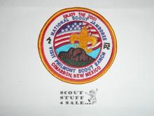 2001 National Jamboree Visit Philmont Scout Ranch Patch