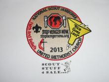 2013 National Jamboree United Methodist Church Patch