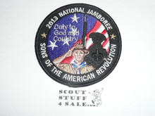 2013 National Jamboree Sons of the American Revolution Patch