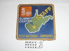 2013 National Jamboree Summit Center STAFF Patch