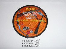 2013 National Jamboree Shooting Sports STAFF Patch