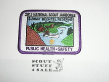 2013 National Jamboree Public Health and Safety STAFF Patch