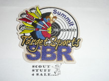 2013 National Jamboree Summit Bechtel Reserve Target Sports Patch