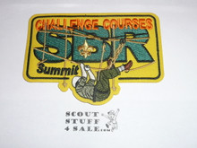 2013 National Jamboree Summit Bechtel Reserve Challenge Courses Patch