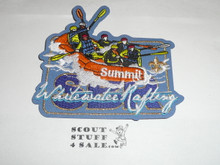 2013 National Jamboree Summit Bechtel Reserve Whitewater Rafting Patch