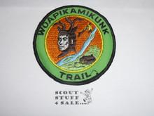 Woapikamikunk Trail Patch, twill variety