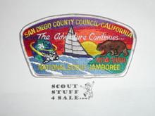 1989 National Jamboree JSP -San Diego County Council