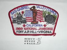 1989 National Jamboree JSP - San Gabriel Valley Council