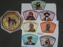 2005 National Jamboree JSP - Trapper Trails Council, Set of 8