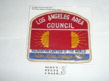 1960 National Jamboree JSP - Los Angeles Area Council, MINT, no troop segment