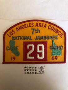 1969 National Jamboree JSP - Los Angeles Area Council, Troop 29, MINT