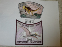 2005 National Jamboree JSP - Utah National Parks Council 2 pieces of set