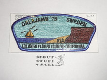 Los Angeles Area Council sa3:1 1979 Dalajamb World Jamboree JSP - Scout