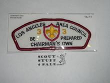 Los Angeles Area Council ta7:1 CSP