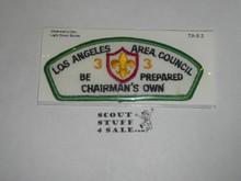 Los Angeles Area Council ta9:3 CSP