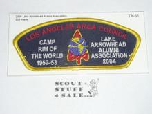 Los Angeles Area Council ta51 - 2004 Lake Arrowhead Alumni Association