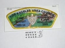 Los Angeles Area Council ta61 - 2005 Lake Arrowhead Alumni Association