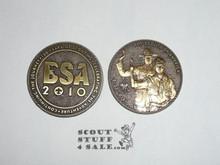 Boy Scout 100th Anniversary 2010 Bronze Coin / Token