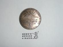 1973 National Jamboree, Longs Peak Council Coin / Token, Skylab on back