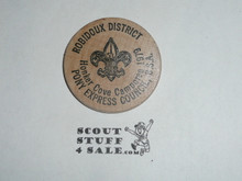 Pony Express Council 1979 Camporee, Boy Scout Wooden Nickel