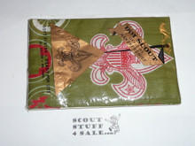 Official Boy Scout Hankerchief New in Package, 1970's