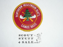 Region Seven Explorer Canoe Base, Patch Titled Northern Wisconsin National Canoe Base