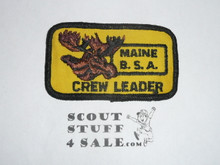 Maine Matagamon National High Adventure Area, Crew Leader Patch