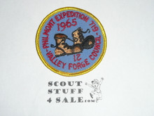 Philmont Scout Ranch, Valley Forge Council 1965 Contingent Patch
