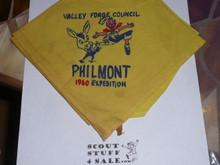 Philmont Scout Ranch, Valley Forge Council 1960 Contingent Neckerchief