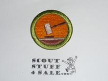 Public Speaking 42mm - Type I - Fully Embroidered Computer Designed Merit Badge (1993-1995)