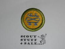 Skating 42mm - Type I - Fully Embroidered Computer Designed Merit Badge (1993-1995)