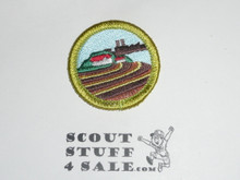 Soil and Water Conservation - Type J - Fully Embroidered Merit Badge with Scout Stuff backing (2002-current)