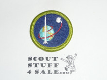 Space Exploration - Type J - Fully Embroidered Merit Badge with Scout Stuff backing (2002-current)