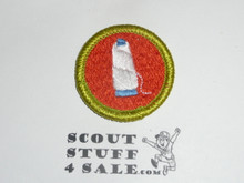 Textiles - Type J - Fully Embroidered Merit Badge with Scout Stuff backing (2002-current)