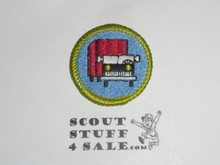 Truck Transportation - Type J - Fully Embroidered Merit Badge with Scout Stuff backing (2002-current)