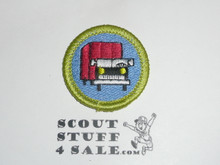 Truck Transportation - Type K - Fully Embroidered Merit Badge with 100th Anniv backing (2010)