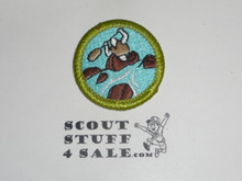 Whitewater (Green bdr) - Type J - Fully Embroidered Merit Badge with Scout Stuff backing (2002-current)