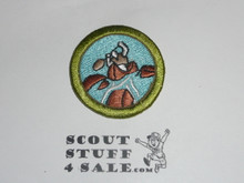 Whitewater 42mm - Type I - Fully Embroidered Computer Designed Merit Badge (1993-1995)