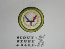 Electronics 42mm - Type I - Fully Embroidered Computer Designed Merit Badge (1993-1995)