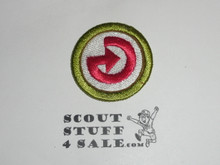 Energy 38mm - Type I - Fully Embroidered Computer Designed Merit Badge (1993-1995)